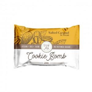 Cookie Bomb - caramello salato e pecan - bio  - 20g