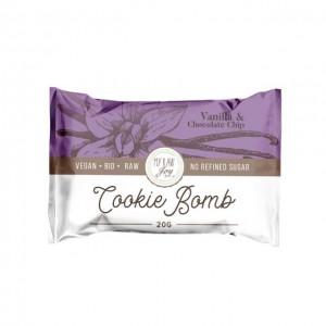 Cookie Bomb - vaniglia e scaglie di cioccolato - bio  - 20g