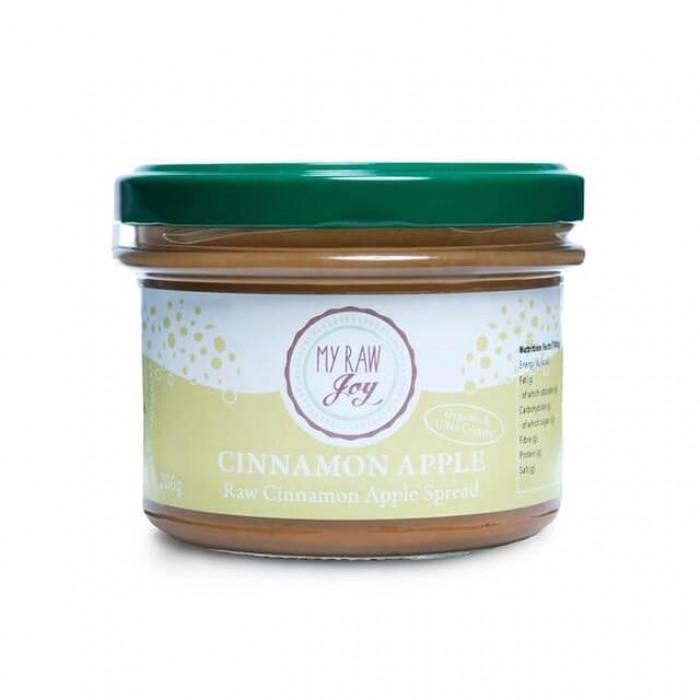 Crema mandorle e anacardi con mela e cannella - bio  - 200g