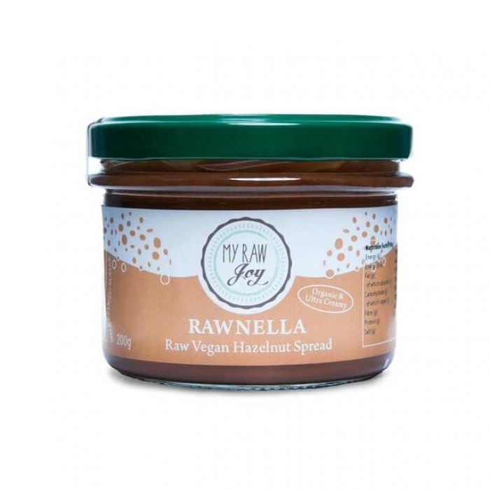 Rawnella - crema crudista alle nocciole e cacao - bio  - 200g