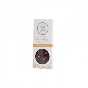Cioccolato crudo ai fiori - bio  - 30g