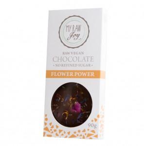 Cioccolato crudo ai fiori - 90g
