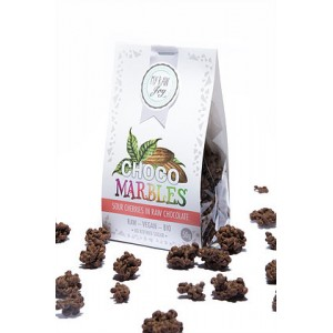 Praline di amarene ricoperte al cioccolato - Raw - 50g