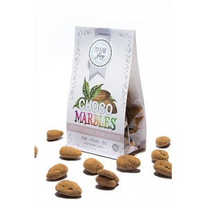 Praline di mandorle ricoperte al cioccolato - Raw - 50g