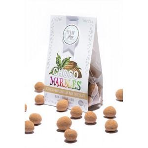 Praline di nocciole ricoperte al cioccolato - raw - bio - 50g