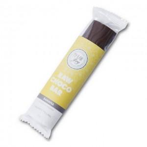 Barretta al cioccolato ripieno banana - raw - bio - 30g