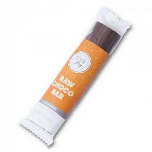 Barretta di cioccolato ripieno al gusto caramello - raw - bio - 30g