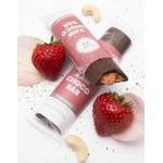 Barretta al cioccolato ripieno fragole - raw - bio - 30g