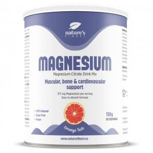 Magnesio - per bevanda gusto arancia - 150g