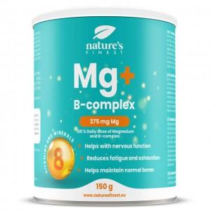 Magnesio + B-complex - per bevanda gusto arancia - 150g
