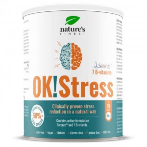 OK!Stress - polvere per bevanda istantanea antistress - 150g
