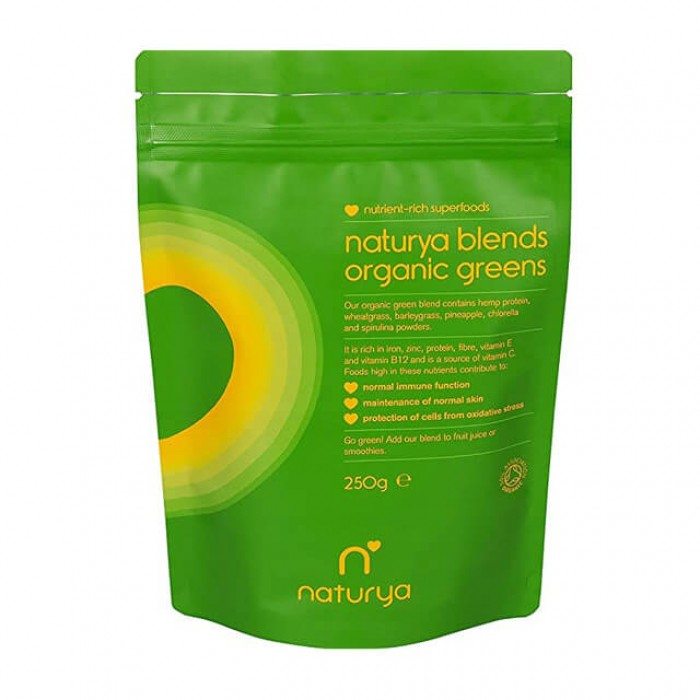Blends organic greens - Miscela di superfood verdi - Bio - 250g