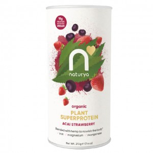 Naturya  Plant Superprotein - acai fragola - bio - 210g