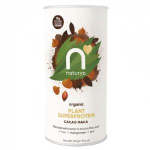 Naturya Plant Superprotein - cacao maca - bio - 210g