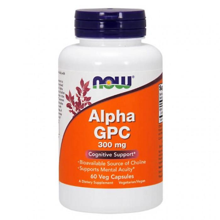 Alpha GPC - 300mg - 60 vcaps