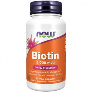 Biotina - 5000mcg - 60 vcaps