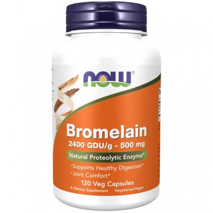 Bromelina - 500mg - 120 vcaps