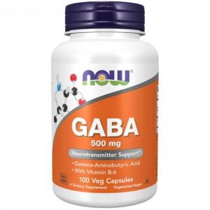 GABA con vitamina B6 - 500mg - 100 vcaps