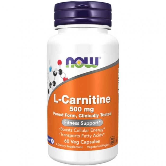 L-Carnitina - 500mg - 60 vcaps