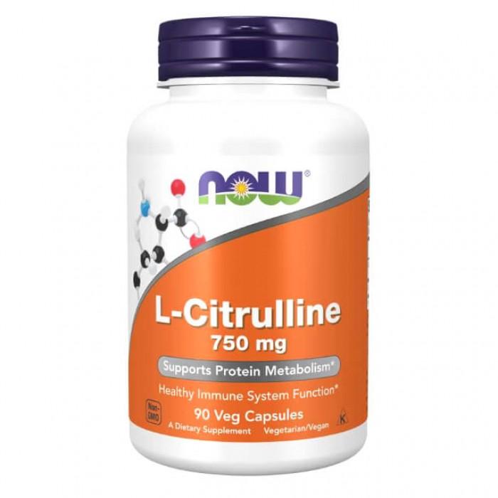 L-Citrullina - 750mg - 90 vcaps
