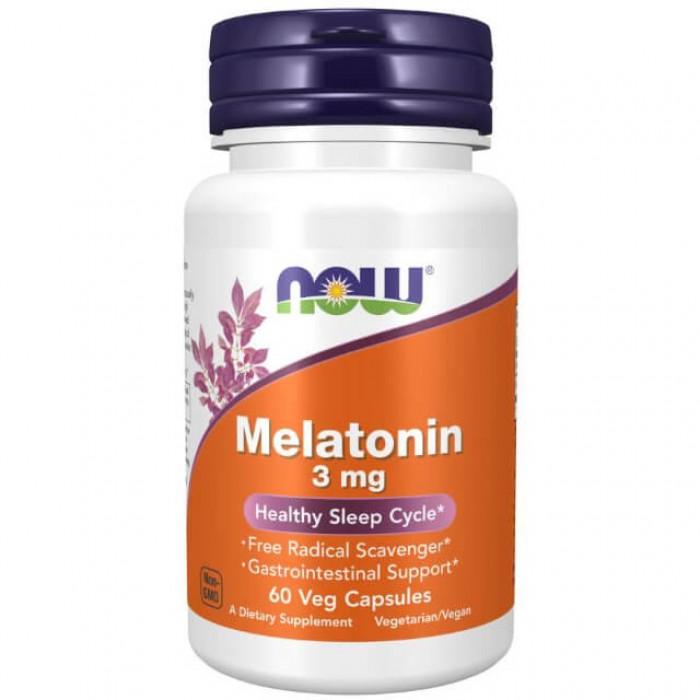 Melatonina - 3mg - 60 vcaps