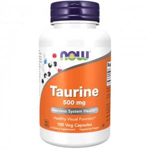 Taurina - 500mg - 100 caps