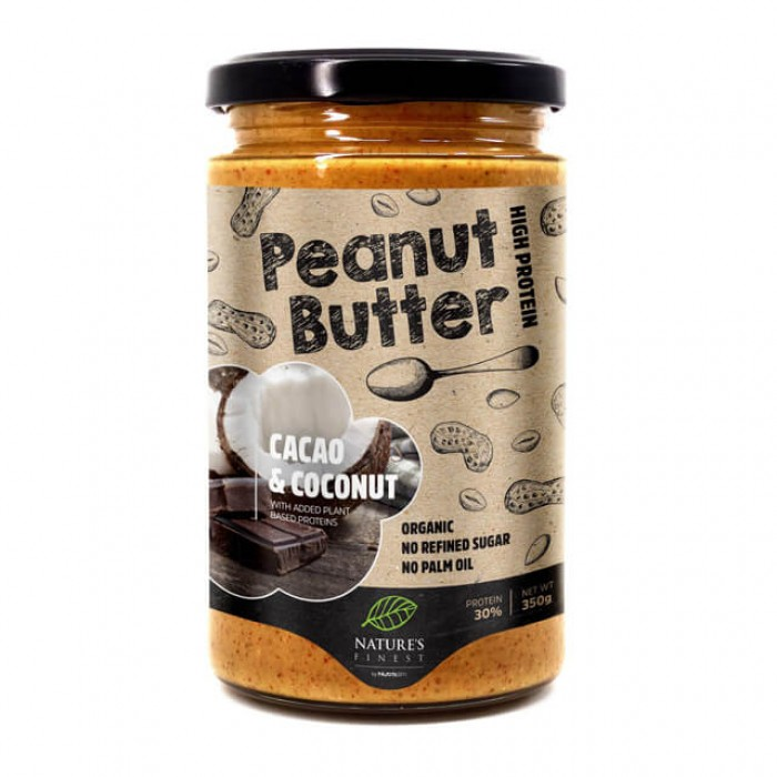 Burro di arachidi - cacao e cocco - bio - 350g