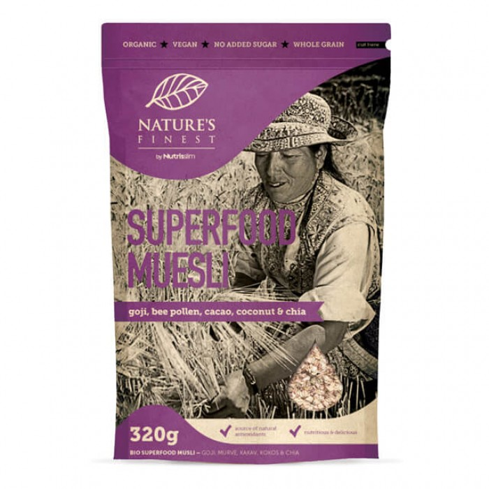 Muesli superfood - bio - 320g