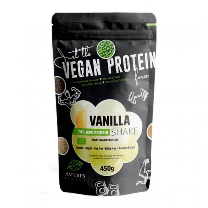 Vanilla raw protein shake 70% - bio - 450g