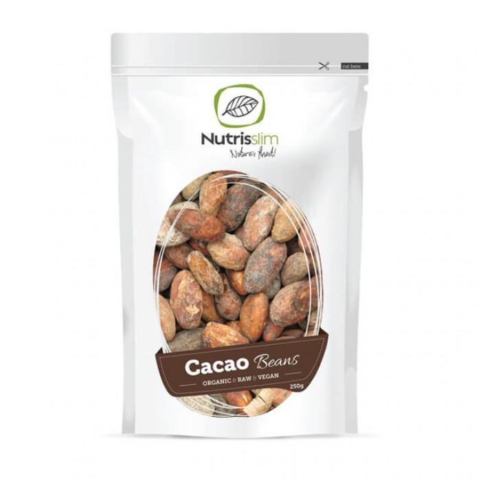 Fave (semi) di Cacao Crudo - Intere, BIO - 250g (Criollo)