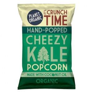 Popcorn - cheezy kale - bio - 20g