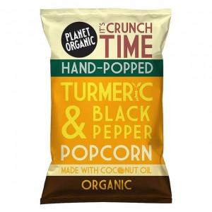 Popcorn - curcuma e pepe nero - bio - 20g
