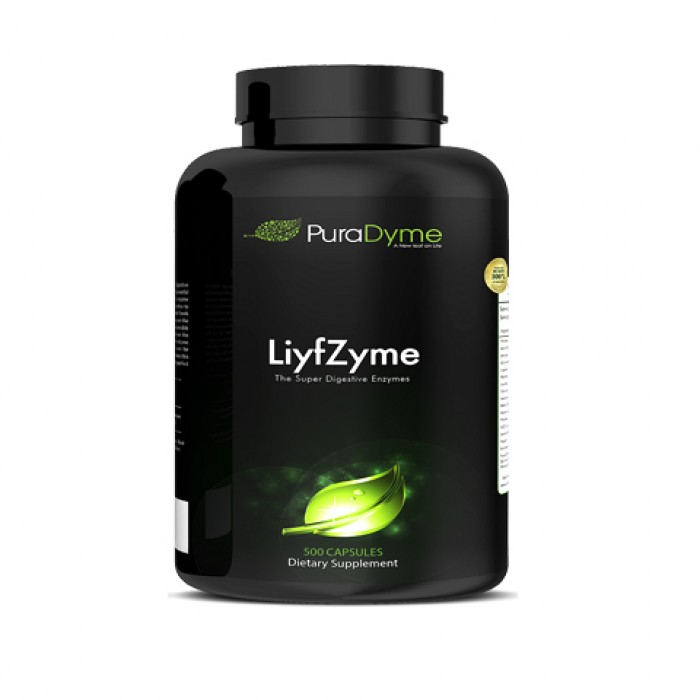 LiyfZyme – Enzimi digestivi a spettro completo - 500 caps