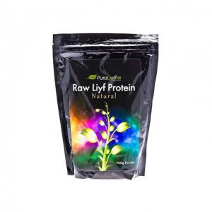 Raw Liyf Protein - proteine crude in polvere – naturale - 900g