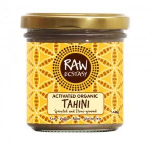 Tahini - Crema di semi di sesamo attivati macinati a pietra - bio - 140g
