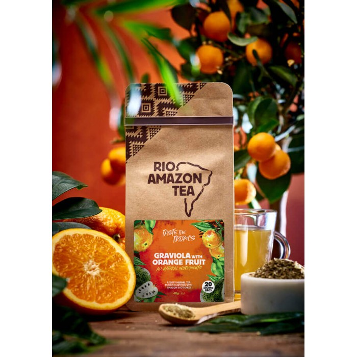 Graviola con arancia - tisana - 20 bustine