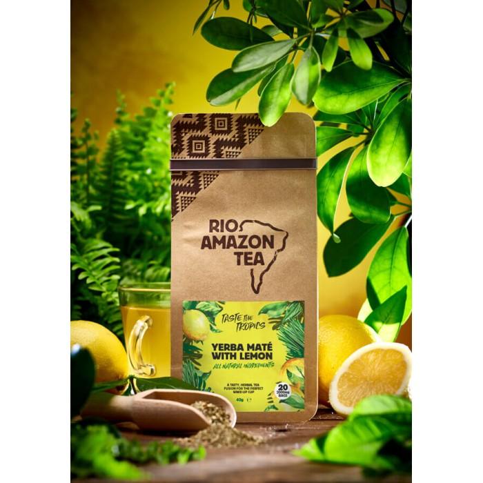 Yerba mate e limone - tisana - 20 bustine