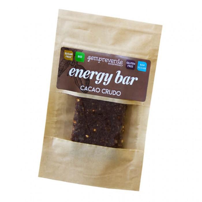 Barretta crudista al grano saraceno germogliato e cacao crudo - bio