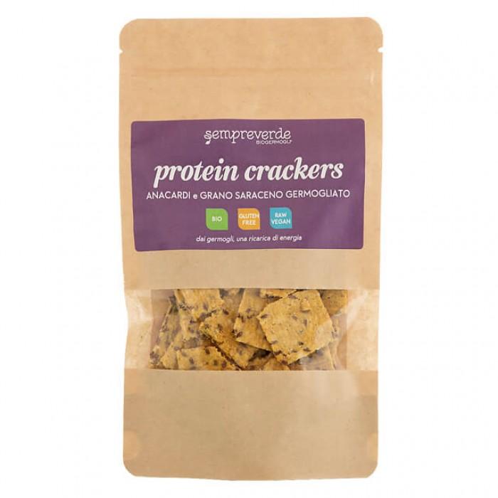 Protein crackers - anacardi e grano saraceno - bio