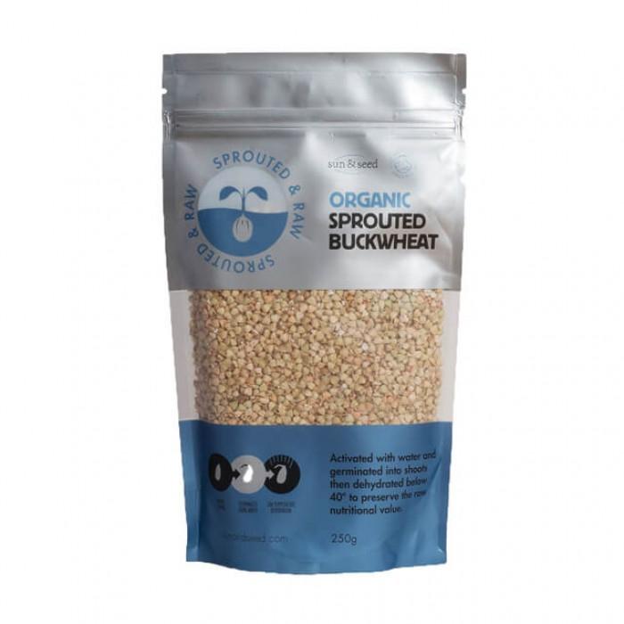 Chicchi di grano saraceno germogliati - Bio - 250g