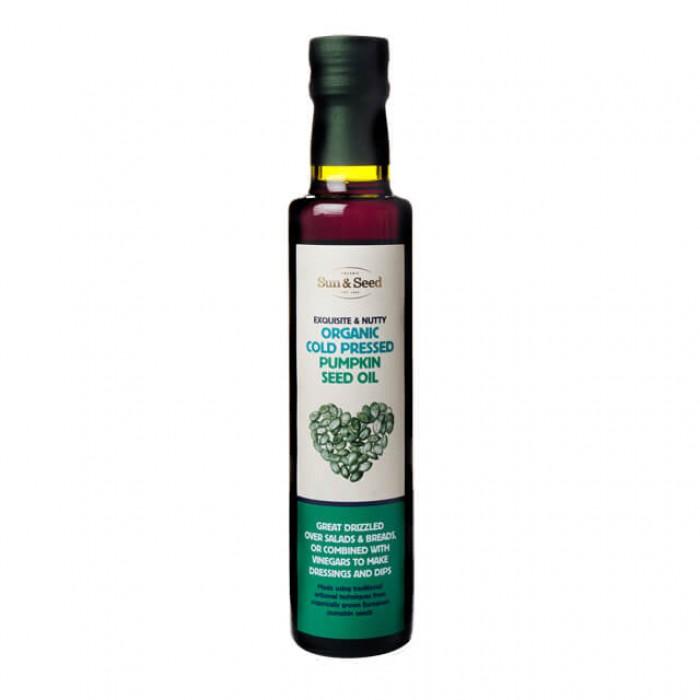 Olio di semi di zucca - spremuto a freddo - bio - 250ml