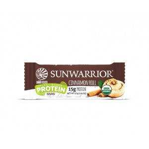 Sunwarrior Sol Good Barretta Proteica - Cinnamon Roll