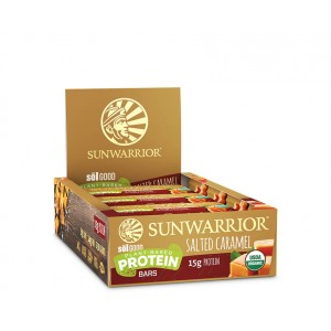 Sunwarrior Sol Good Barrette Proteiche - Salted Caramel - 12 pack