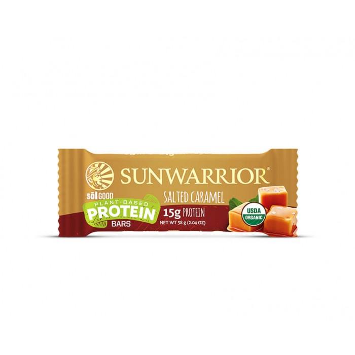 Sunwarrior Sol Good Barretta Proteica - Salted Caramel