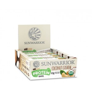 Sunwarrior Sol Good Barrette Proteiche - Coconut Cashew - 12 pack