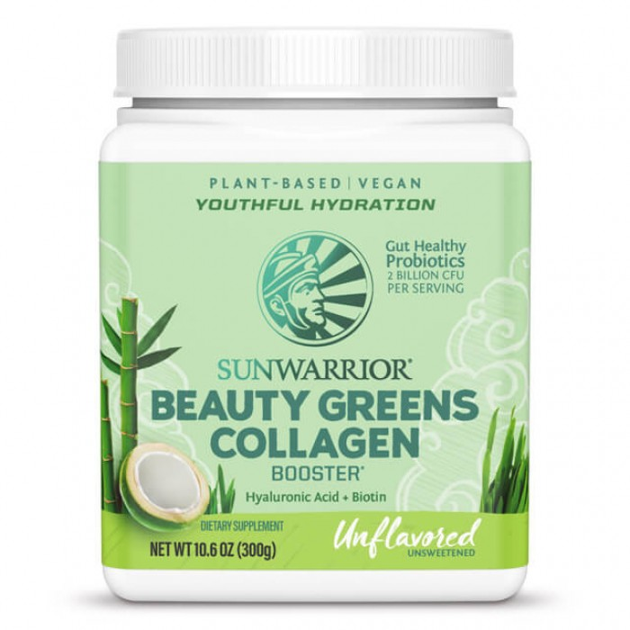 Beauty greens collagen booster - unflavored - 300g