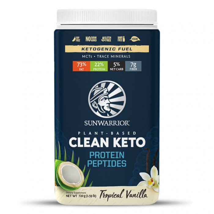 Clean keto protein peptides - tropical vanilla - 720g