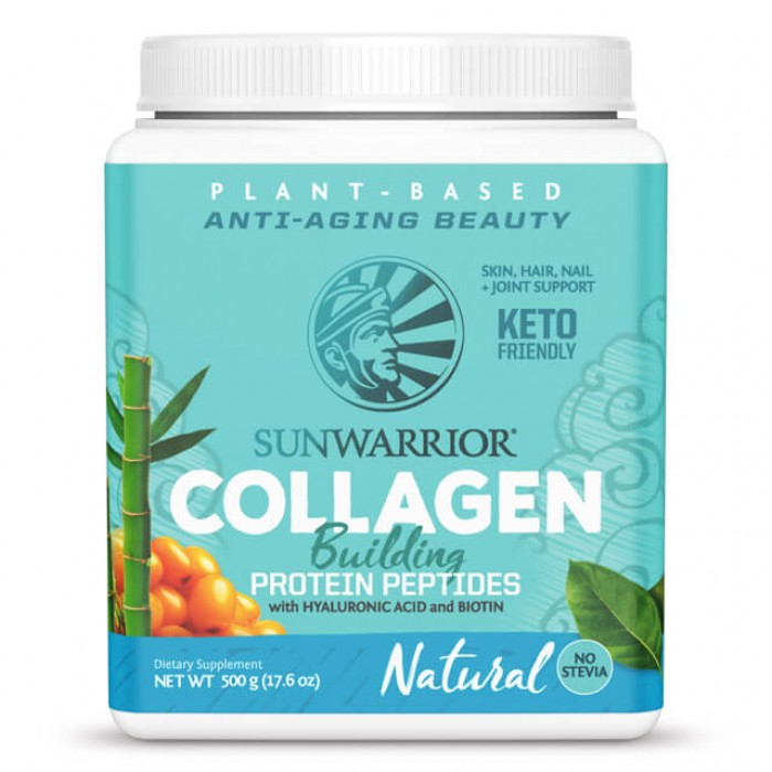 Collagen building protein peptides - natural - 500g