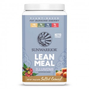 Sunwarrior Lean meal illumin8 - salted caramel - 720g