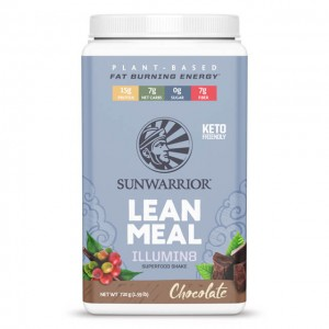Sunwarrior Lean meal Illumin8 chocolate - VegPasto completo - bio - 720g